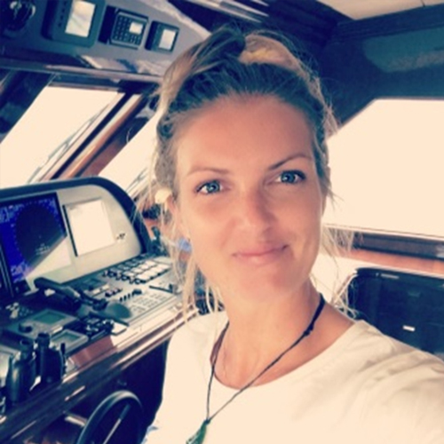 Ruby: qualified educator with 5 years serving on commercial vessels