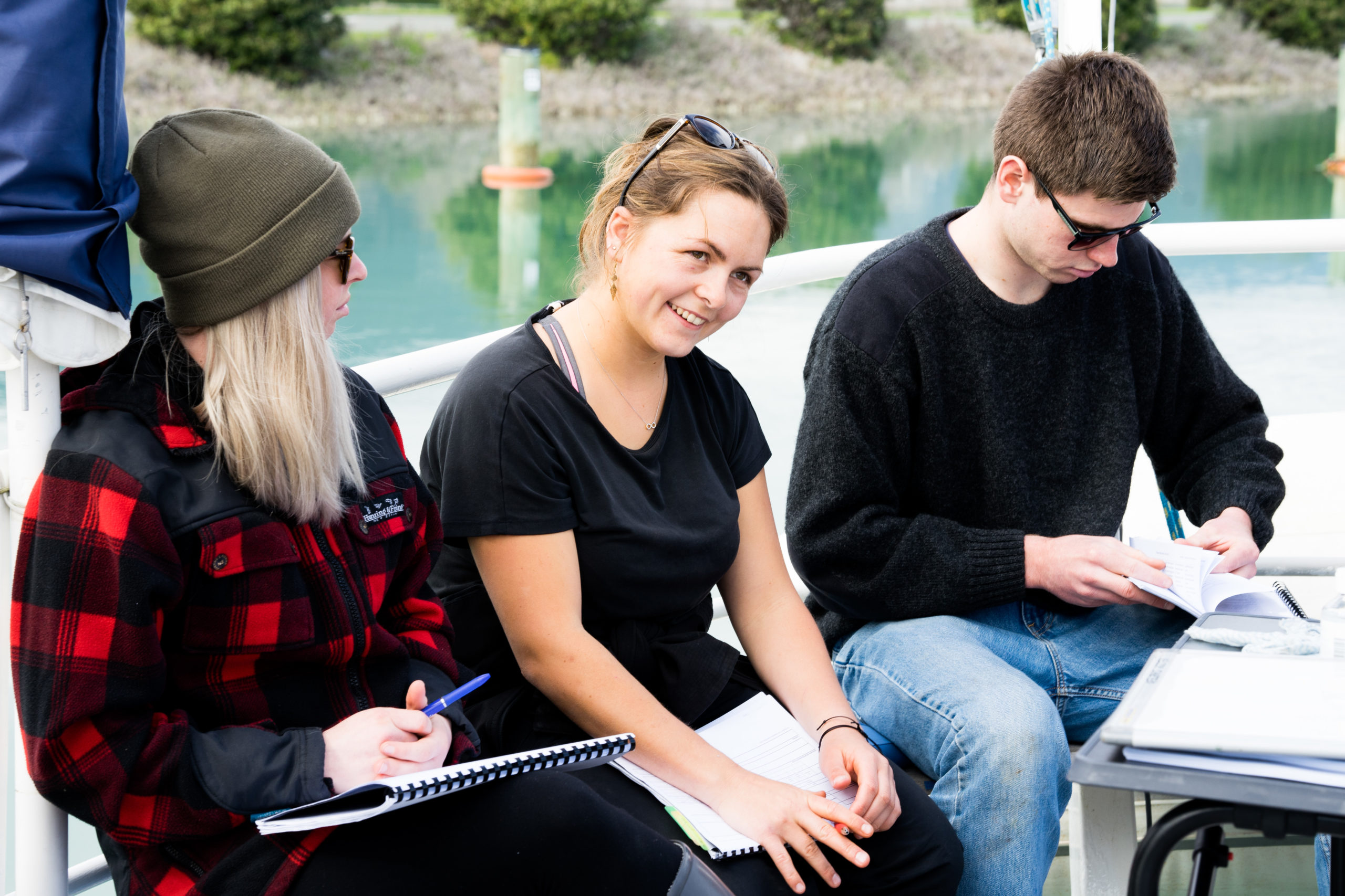 Students Preparing For Their Skipper Training Course